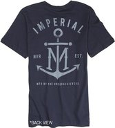 FIRST MATE 2 SS TEE X-Large Navy Blue