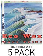 Wave Tribe Eco Wax -Basecoat 5 Pk
