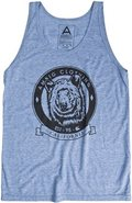 GRIZZLY TANK X-Large Heather Blue