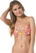 Maaji Mandarina Forest Reversible Bikini Top Swimw
