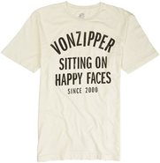Vonzipper Happy Faces Short Sleeve Tee