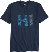 HIGH LINES SS TEE Medium Navy Blue
