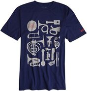 SUPER NEW SOUNDS SS TEE X-Large Navy Blue