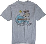 NOSE RIDER SS TEE Large Heather Gray