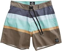 Critical Slide Society Squeezed Boardshort Brown