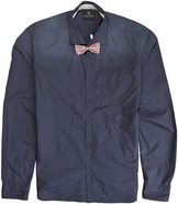 BOW TIE LS SHIRT X-Large Navy Blue
