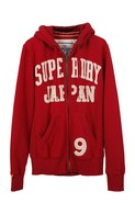 Destroyer Applique Zipfront Hoodie