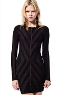 Corinne Knit Dress in Black