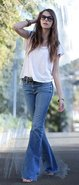 Farrah Bell Bottom Jeans in 6 Years Wash