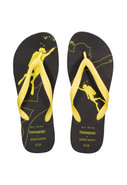 Diver Flip-Flop in Black