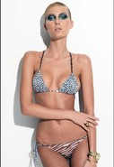 Adriana Bikini in Mixed Animal