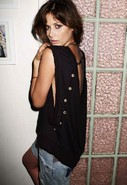 Loveless Top in Black