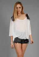 Square Draped Top