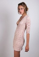 Nightcap Deep V Victorian Lace Dress in Many Color