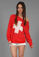 Lifeguard Baggy Beach Jumper in 2 Colors