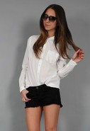 Maya Blouse in Bright White
