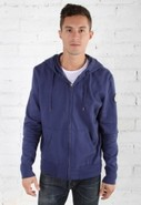 Ever Beachwood Garment Dyed Fleece Hoodie in Cobal