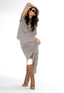 Hi-Lo Skirt in Grey