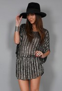 Square Sequin Tunic in Many Colors - SINGER22 Excl