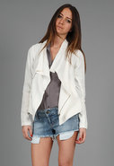 Linen Rib Jacket in 2 Colors