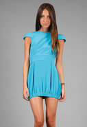 Party Dress in Cali Blue - SINGER22 Exclusive
