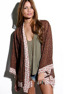 Kimono Jacket in O So Fine Floral