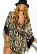 Goddess Tunic in Snake