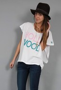 Hollywood Rocker Tee in White