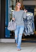 Shoulder Zip Double Layer Sweatshirt in Heather Gr