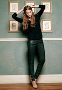 The Leatherette Legging in Black