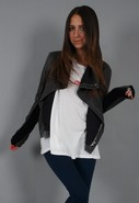 Veda Max Classic Jacket in Charcoal