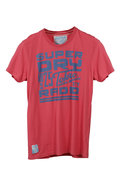Tokyo Radio Short Sleeve Graphic Tee in Parched Pi