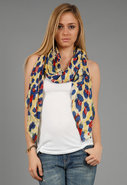 Jaguar Scarf in Yellow