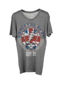 Chaser Europe Tour 1990 Grateful Dead Tee in Grey