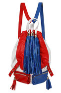 y Jeffrey Campbell Rizzler Bag in Red/White/Blue