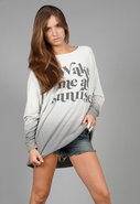 Wake Me Roadtrip Sweater Dress in Smoke Signal