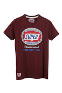 Superdy Friction Cracked Graphic Short Sleeve Tee