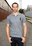 Jeremiah S/S Pique Polo with Studs