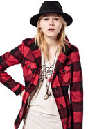 Taylor Lumberjack Jacket in Red