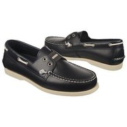 Wharf Slip On Shoes (Navy Smooth) - Men's Shoes -
