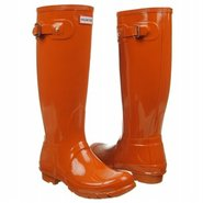Hunter Original Gloss Boots (Burnt Orange) - Women