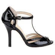 Badre Shoes (Black Patent Leather) - Women&#39;s Shoes