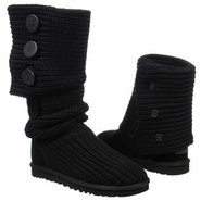 Boots Classic Cardy (Black) - Women&#39;s UGG Boots- 6