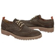 Brogue Lug Shoes (Dark Brown) - Men's Shoes - 8.0