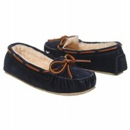Cally Slipper Shoes (Dark Navy Suede) - Women's Sh