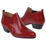 Plain Toe Demi-Boot Boots (Red) - Men's Boots - 13
