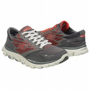 Go Run Ride Shoes (Charcoal/Red) - Men's Shoes - 7