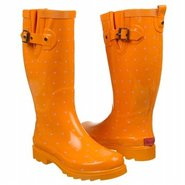 Classic Dot Boots (Orange) - Women's Boots - 6.0 M
