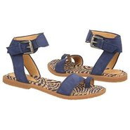 Zenobia Sandals (Dark Blue Nubuck) - Women's Sanda