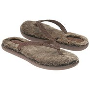 Fluffie Pre/Grd Sandals (Chocolate/Metal Gold) - K